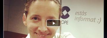 Oihana Iturbide en La Cope